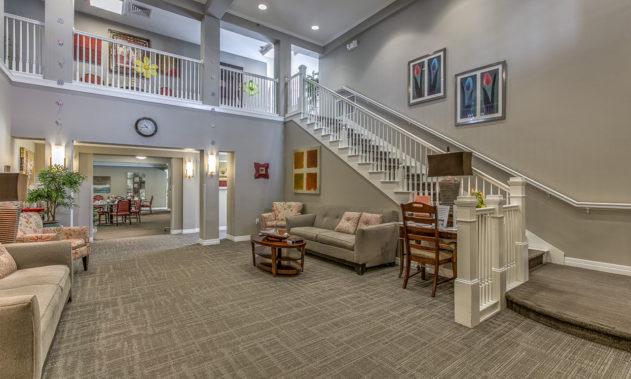 Elk Ridge Dial Senior Living - Staircase