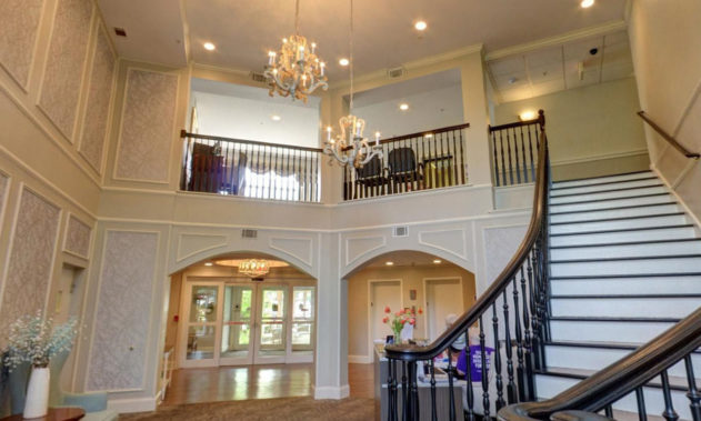 Willow Falls Dial Senior Living - Staircase