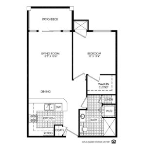 Woodlands Creek Independent Living, Clive, IA, 1 Bed Room Floor Plan - Quincy
