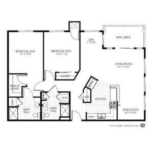Elk Ridge Independent Living, Elkhorn, NE, Dorado 2 Bed Floor Plan