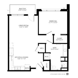 The Knolls Independent Living, Lincoln, NE, Pershing 1 Bed